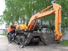 Экскаватор E195A на автомобильном ходу КАМАЗ-43118